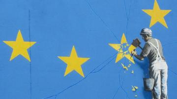Nowy mural Banksy'ego. Nawiązuje do Brexitu