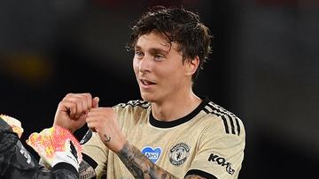 Szwedzki piłkarz Manchesteru United superbohaterem w swoim kraju