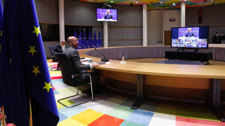 Szczyt Rady Europejskiej. O praworządności rozmawiano przez kwadrans