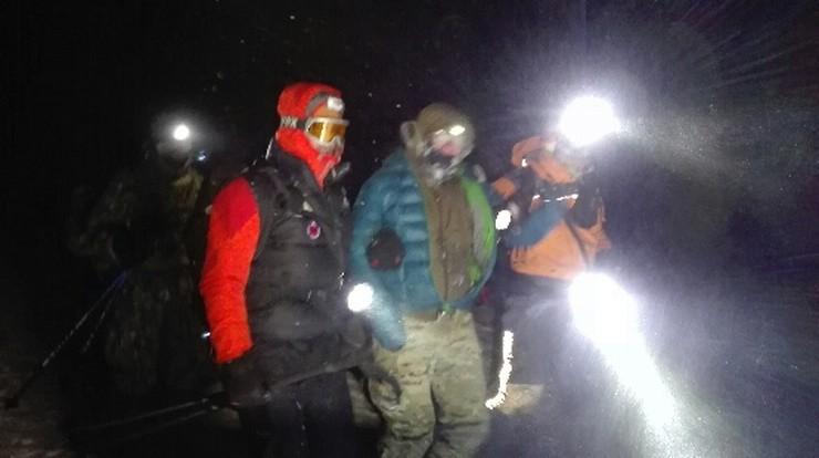 Ojciec z synem uratowani na Słowacji. Pomogły współrzędne GPS i uruchomiona w nocy kolej linowa