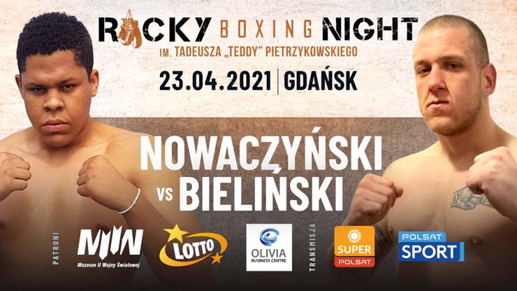 Rocky Boxing Night: W piątek podniebna gala bokserska w Gdańsku