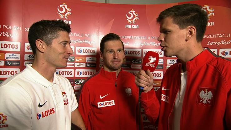 Szczęsny reporterem Polsat Sport! W ogniu pytań Krychowiak i Lewandowski