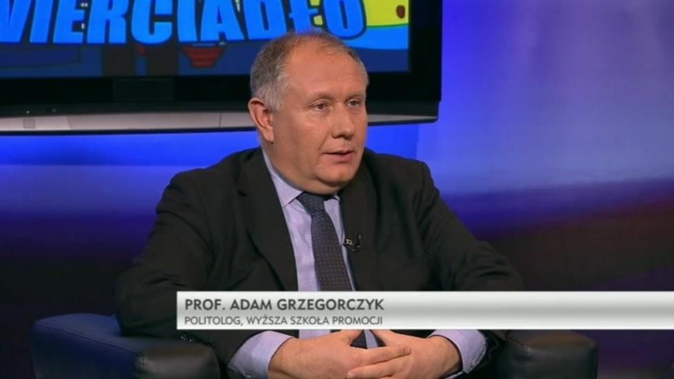 Krzywe zwierciadło - prof. Tadeusz Bartoś, prof. Adam Grzegorczyk