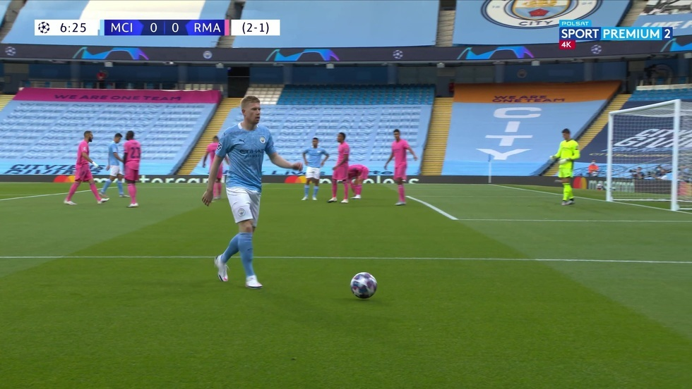 Manchester City - Real Madryt 4K