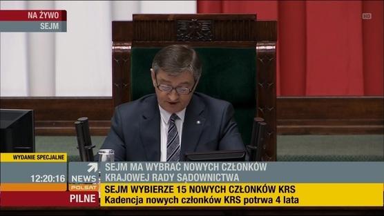 Sejm wybiera KRS