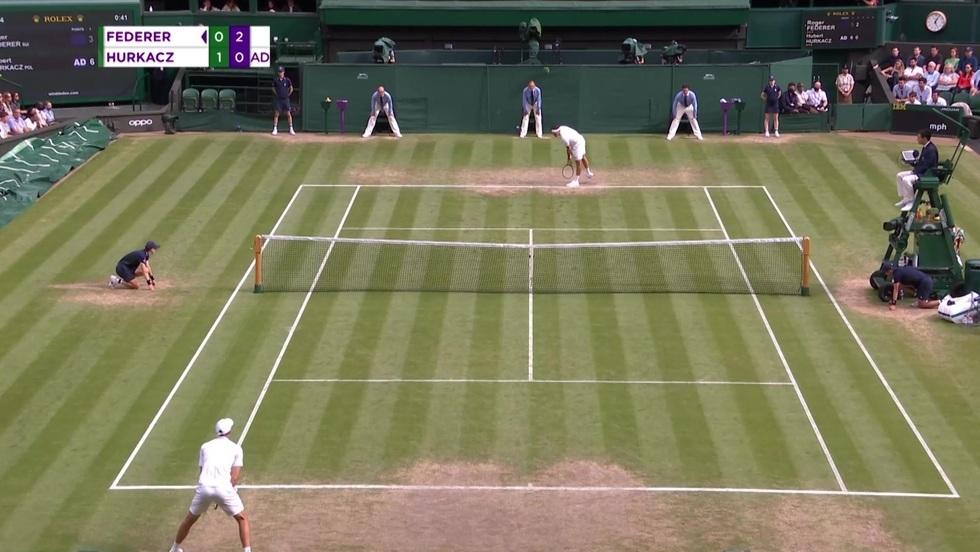 Hubert Hurkacz - Roger Federer