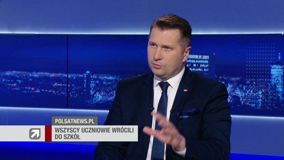 Gość Wydarzeń - Przemysław Czarnek