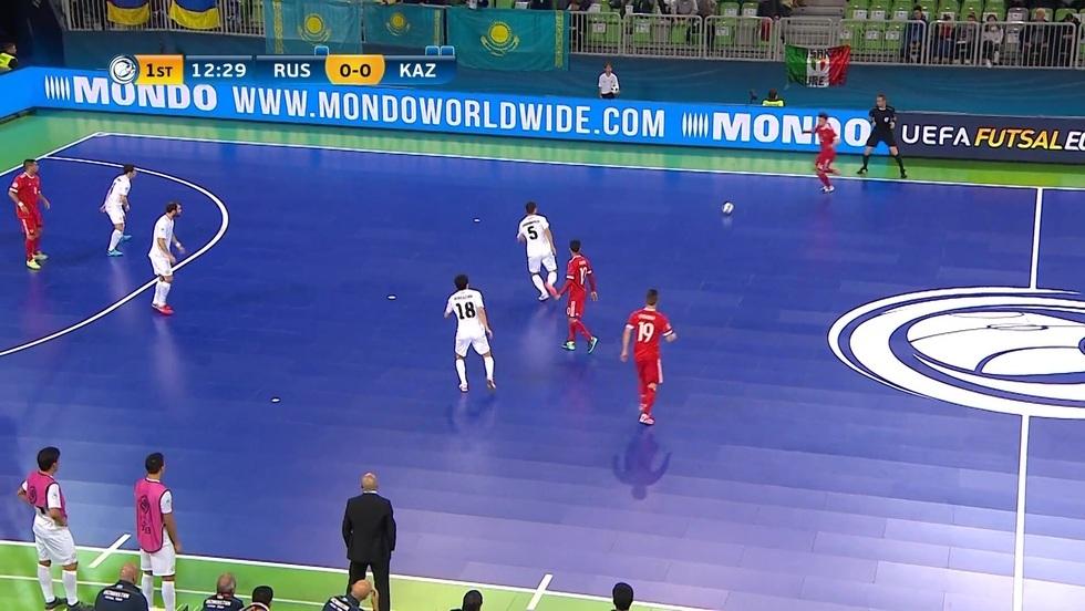 Rosja - Kazachstan, skrót meczu