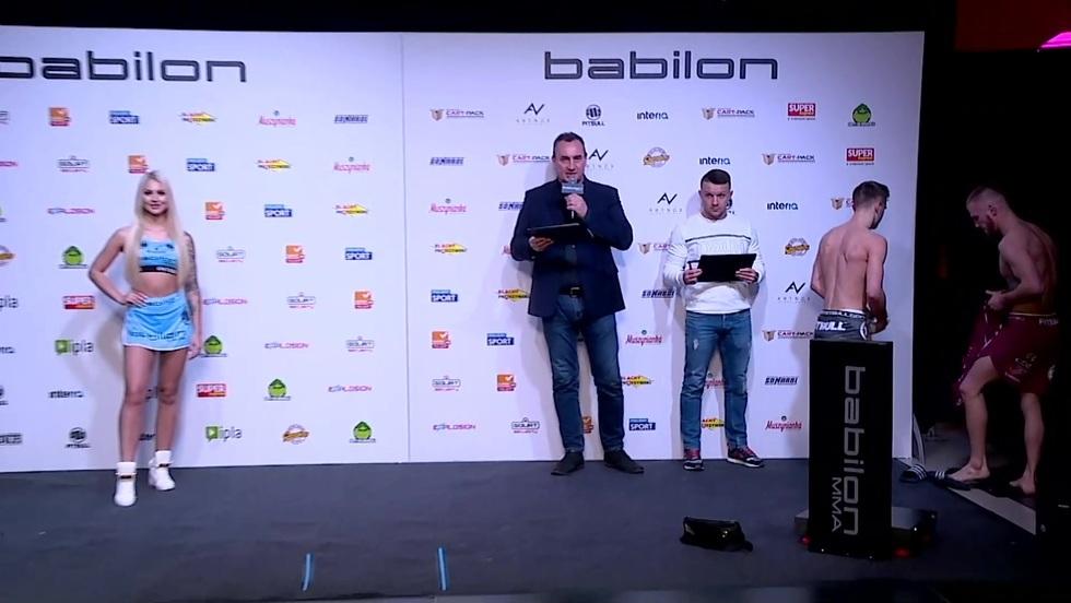Babilon MMA 19: ceremonia ważenia