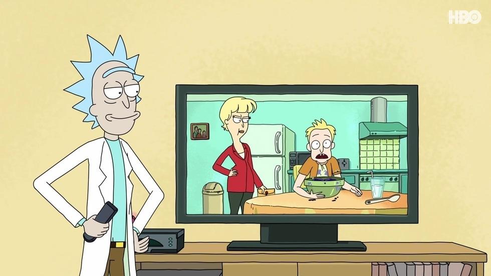 Rick i Morty I, odc. 8