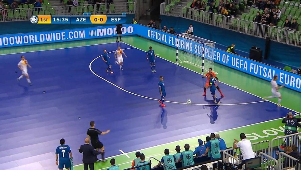 Azerbejdżan - Hiszpania, skrót meczu