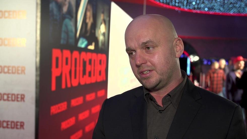 """Michał Węgrzyn, reżyser filmu """"Proceder"""""""